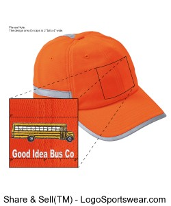 ANSI Moisture Wicking Safety Cap Design Zoom